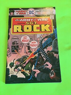 Our Army at War 289 Rare Mark Jewelers Variant Huge DC War Comics Auction! Wow!