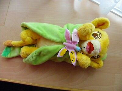 Disney Soft Plush & Bean Baby Simba from The Lion King - From Disney Land - VGC