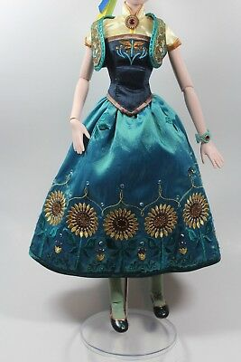 Disney Limited Edition Doll Anna Frozen 17'' Outfit Fits Tonner Tyler Cami