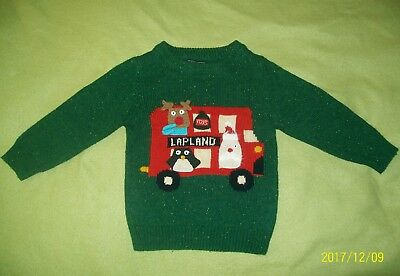Next boys Christmas jumper size /age 12-18 months (1-1.5 year) VGC