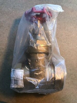 10020283 54mm Gate Valve DZR BS5154