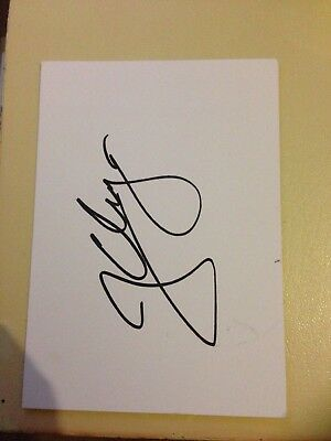 Jean Kleyn-South Africa Rugby Player Signed 6x4 Card