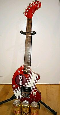 cocacola limited official collectable guitar Official authentic Item from Coke