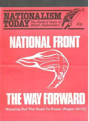 NF BNP - 1980s NATIONALISM TODAY # 19 - John Tyndall - Not Mosley BUF UM
