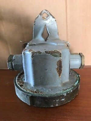 Old Deck Light -  Industrial Navy Marine - off research vessel