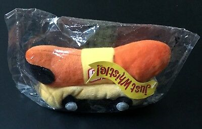 Oscar Mayer Wiener mobile beanie plush Toy Collectible Hot Dog 🌭