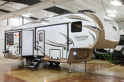 New 2018 Classic Super Lite 8528IKWS Island Kitchen Rear Living Fifth 5th Wheel