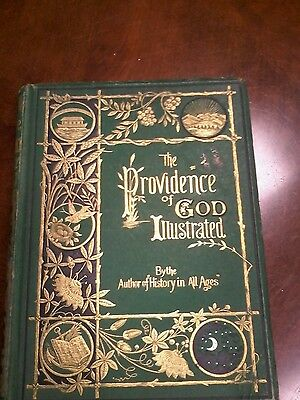 Antique The Providence of God Illustrated Book Illustrated by Edward Hughes