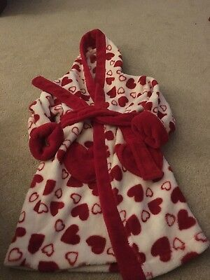 Mini Club At Boots Girls Dressing Gown Age 18-24 Months
