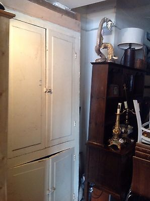 Victorian Alcove Doors Frontage Cabinet Painted Cupboard Scullery