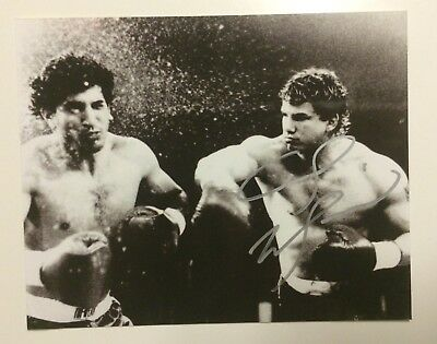 Tommy Morrison SIGNED AUTOGRAPHED Boxing Photograph Wbo Heavyweight Champion
