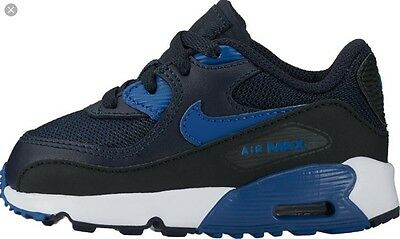 Baby Nike Air Max 90 Mesh (TD) 833422-402, Trainer, Infant UK 3.5, EUR 19.5,