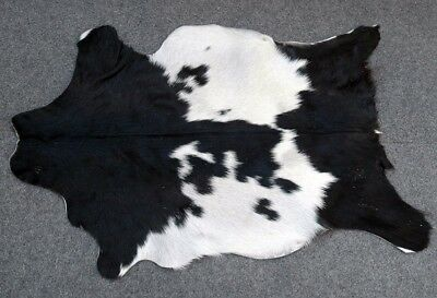Goathide Western taxidermy Rug Cow Natural Pattern Fur Goat Skin MB-397