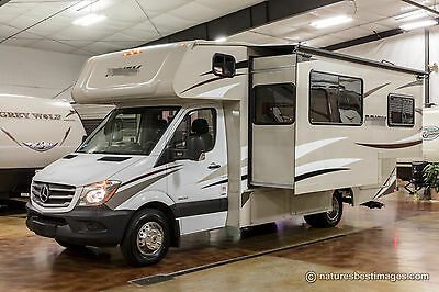 New 2018 2200 LE Class C Diesel Motorhome with Slide Out Mercedes Benz Chassis