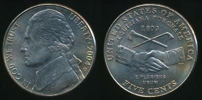 United States, 2004-D 5 Cents, Jefferson Nickel (Peace Medal) - Uncirculated