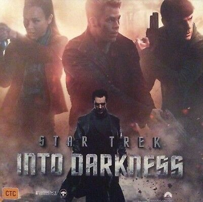 Promotional Movie Postcard Its Tiny For Star Trek Into The Darkness *NOT A DVD*