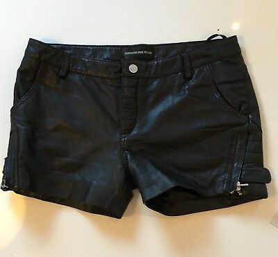 Zadig&voltaire Leather Shorts M Excl. Cond.