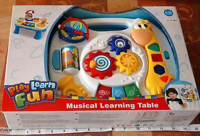 2 in 1 Baby Musical Toy Table and Activity Center for the Crib - NEW IN BOX