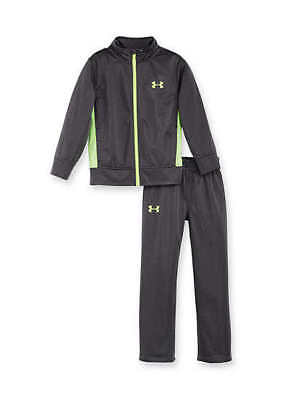 Boy's Size 4T Under Armour Gray Tracksuit Outfits Jacket Nwt