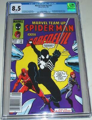 Marvel Team-Up 141-Cgc 8.5-White Pages-1St Black Costume- New Arrival- Gem Case!