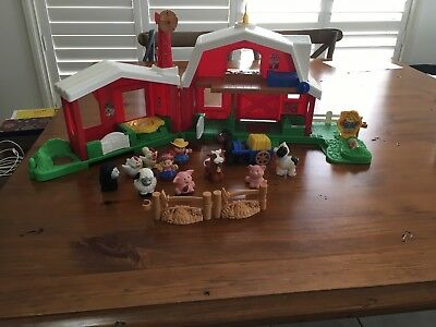 Fisher Price Little People (Used) Farm Set