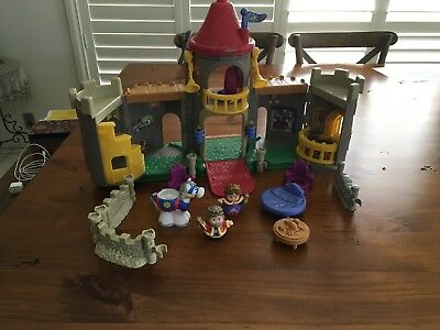 Fisher Price Little People Castle (Used)