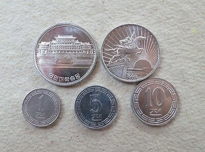 Korea 1959-1987 Set of 5 Coins, UNC set