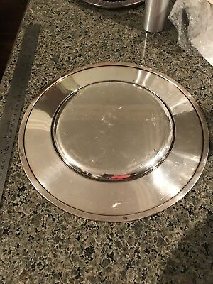 Georg Jensen Sterling Silver Service Plate #587C by Johan Rohde - free shipping