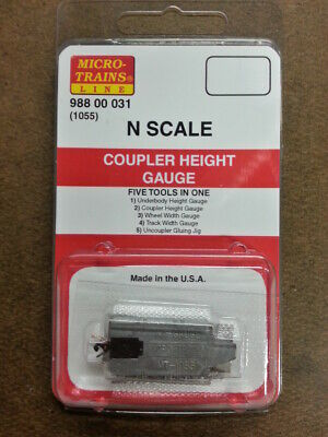Micro-Trains 98800031 - Coupler Height Gauge - N Scale
