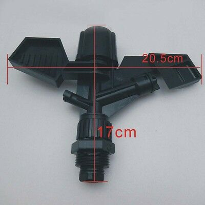 "1pcs 1"" Garden&lawn ABS plastic impact sprinkler head"