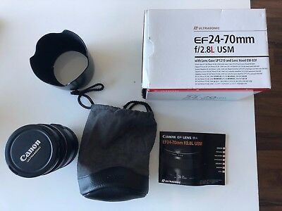 Canon EF 24-70mm f/2.8 USM L Lens with Hoya Pro1 Digital 77mm filter.