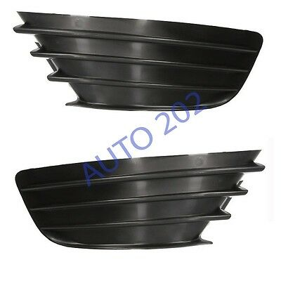 Citroen C4 2004-2008 Left + Right Front Bumper Fog Grille Without Fog Hole