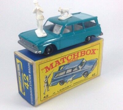 Matchbox Series Studebaker Station Wagon 42 A Lesney Product En Caja Original