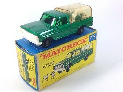 Matchbox Series Kennel Truck Perros 50 A Lesney Product Caja Original Completo
