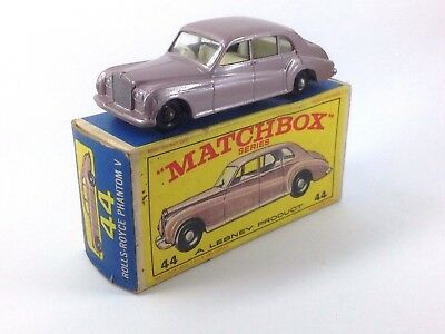 Matchbox Series Rolls Royce Phantom V 44 A Lesney Product Caja Original Rare
