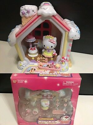 Hello Kitty Gingerbread House Playset Figure RARE Toy Dream World Holiday