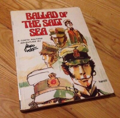 BALLAD OF THE SALT SEA Corto Maltese by Hugo Pratt Graphic Novel (Umberto Eco)