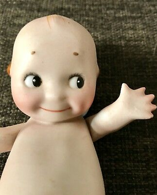 Gorgeous Antique Bisque Kewpie By Rose O'Neill Made In Germany 1915  16cm