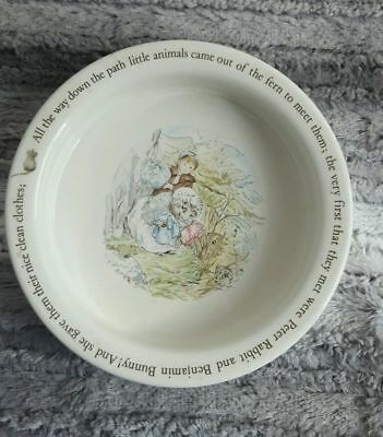 Beatrix potter wedgewood mrs tiggy winkle cup bowl plate for Wedgewood designs