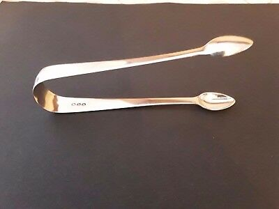Quality pair of Silver Sugar Tongs   1816