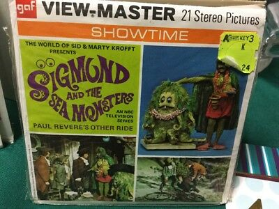 viewmaster sigmund and the sea monsters