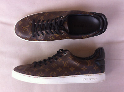 Mens Louis Vuitton Monogram Frontrow Sneakers  Size: 11 Near New