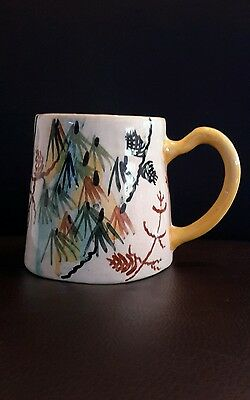 John Perceval hand painted coffee mug