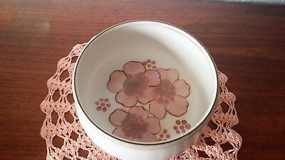 Denby GYPSY Pattern Open Fruit Bowl Stoneware Vintage Hand painted 18cm