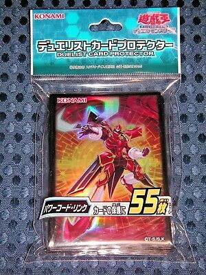Limited YuGiOh OCG Powercode Link Duelist Card Sleeve Protector 55pcs JAPAN F/S