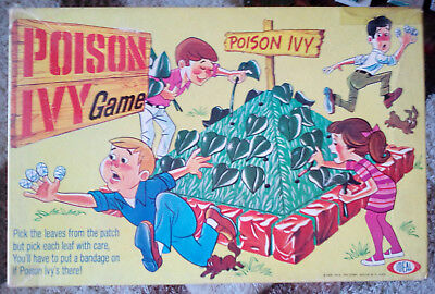 Vintage 1969 Ideal Poison Ivy Board Game - Complete