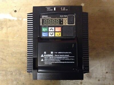 Omron MX2 1ph 1.5 KW inverter
