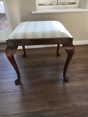 Gorgeous Antique Oak Stool