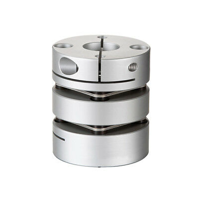 Alloy Flexible Coupling 6mm-14mm Double diaphragm Shaft Encoder Connect D34 L48
