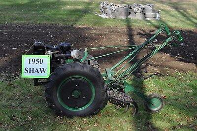 Shaw Du-all Walking Tractor- Farm implement